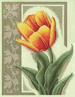 """Вышивка крестом """"Прекрасный тюльпан"""""""