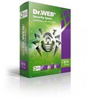 Dr.Web Security Space (на 1 ПК). Лицензия на 1 год