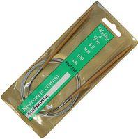Спицы круговые для вязания (бамбук; 4 мм; 100 см)
