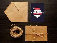 """Открытка """"Christmas time"""" (art. 8)"""