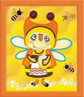"Вышивка бисером ""Бабушка Пчела"" (150х180 мм)"