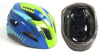 Шлем велосипедный детский (M; сине-зелёный; арт. 03-5M)