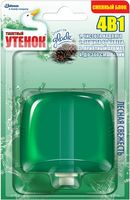 """Подвесной очиститель унитаза Туалетный Утенок """"Лесная свежесть"""" (сменный блок; 55 мл)"""