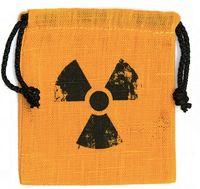 """Мешочек для хранения кубиков и карт """"Радиация"""""""