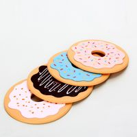 """Набор подставок для чашек """"Пончики"""" (4 шт.)"""