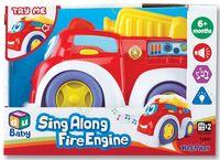 Пожарная машинка (со световыми и звуковыми эффектами; арт. 12841)