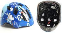 Шлем велосипедный детский (XS; сине-белый; арт. IN11-1XS)