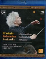 Rattle Conducts Tchaikovsky, Stravinsky & Rachmaninov (Blu-Ray)