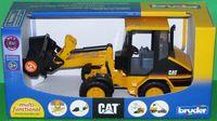 """Модель машины """"Погрузчик колесный CAT с ковшом"""" (масштаб: 1/16)"""