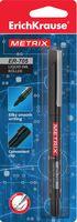 """Ручка-роллер """"METRIX ER-705"""" (черные чернила, блистер)"""