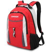 Рюкзак WENGER (22 литра, черный/серый/красный)