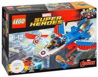 """LEGO Super Heroes """"Воздушная погоня Капитана Америка"""""""