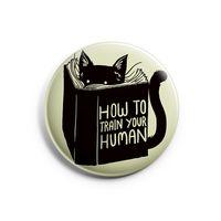 """Значок маленький """"Cat"""" (арт. 730)"""