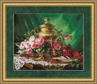 "Вышивка крестом ""Чай с мёдом"" (355х445 мм)"