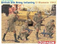 "Набор миниатюр ""British 8th Army Infantry El Alamein 1942"" (масштаб: 1/35)"