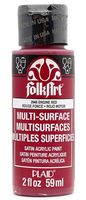 "Краска акриловая ""FolkArt Multi-Surface"" (красный, 59 мл; арт. PLD-02948)"