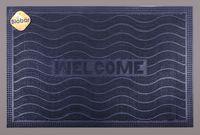 """Коврик резиновый """"Welcome. Волнистый"""" (40х60 см; черный)"""