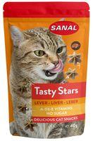 "Лакомство для кошек ""Tasty Stars Liver"" (40 г; печень)"