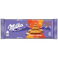 """Шоколад молочный """"Milka. Арахис и карамель"""" (276 г)"""