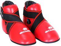 Футы для тхэквондо/кикбоксинга (XL; красные)