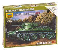 Советский легкий танк Бт-5 (масштаб: 1/100)