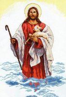 """Вышивка крестом """"Христос"""""""