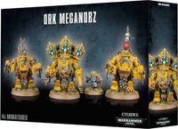 """Набор миниатюр """"Warhammer 40.000. Orks Meganobz/Big Mek in Mega Armour"""" (50-08)"""