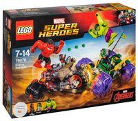 "LEGO Super Heroes ""Халк против Красного Халка"""