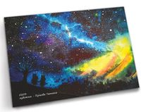 """Открытка """"Далекие звезды и Муми-тролли"""" (арт. 0203)"""