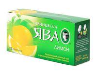 """Чай зеленый """"Принцесса Ява. Лимон"""" (25 пакетиков)"""