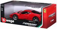 """Модель машины """"Bburago. Ferrari 458"""" (масштаб: 1/18)"""