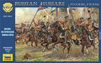 """Набор миниатюр """"Русские гусары 1812-1814 гг."""" (масштаб: 1/72)"""