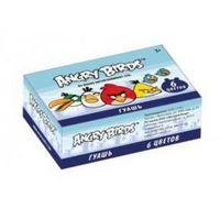 "Гуашь ""Angry birds"" (6 цветов, картон)"