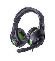 Игровая гарнитура Ritmix RH-559M (черно-зеленая)