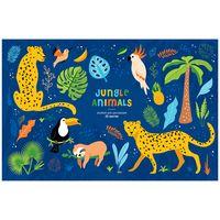 """Альбом для рисования """"Jungle Animals"""" (А4; 20 листов)"""