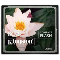 Карта памяти Compact Flash 8Gb Kingston