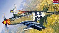 Самолет P-51B Mustang (масштаб: 1/72)