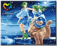 "Картина по номерам ""Овен"" (400x500 мм; с люминесцентной краской; арт. YH4050001)"