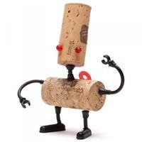 """Декор для винной пробки """"Robots"""" (Люк)"""