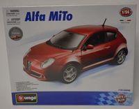 "Модель машины ""Bburago. Alfa Romeo MiTO"" (масштаб: 1/24; арт. 18-25098)"