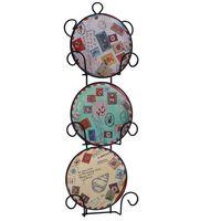 Набор декоративных тарелок (11,5х3х33,5 см; арт. 36260)