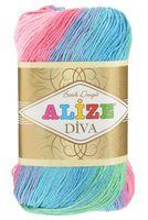 """Пряжа """"ALIZE. Diva Batik Design №4537"""" (100 г; 350 м)"""