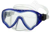 Маска для плавания 428 (силикон; синяя)
