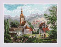 "Вышивка крестом ""Монастырь Шоненверт"" (400х300 мм)"