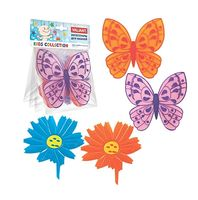 """Набор игрушек для купания """"Бабочки-цветочки"""" (4 шт.)"""