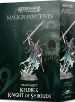 Warhammer Age of Sigmar. Nighthaunt. Keldrek: Knight Of Shrouds (91-19)