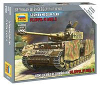 "Сборная модель ""Немецкий средний танк Т-4Н Pz.Kpfw.IV Ausf.H"" (масштаб: 1/100)"