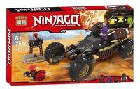 """Конструктор """"Ninja. Пустынный багги"""" (407 деталей)"""