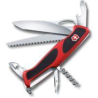 "Нож Victorinox ""RangerGrip 79"" (12 функций; красно-чёрный)"