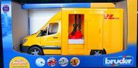 """Модель машины """"MB Sprinter фургон DHL с погрузчиком"""" (масштаб: 1/16)"""